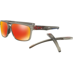 Oakley Crossrange Patch Sunglasses Matte Grey Ink/Prizm Ruby